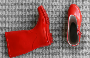 Red Shoes On Carpet | ABQThoroClean